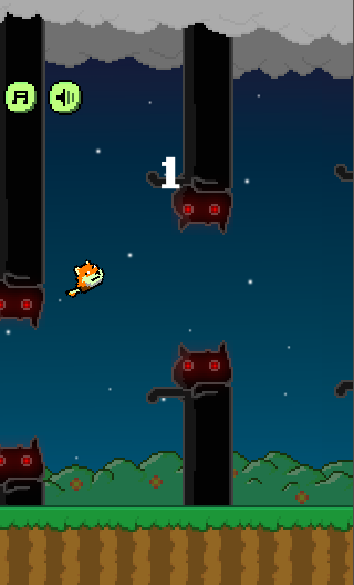 Flap Doge- screenshot