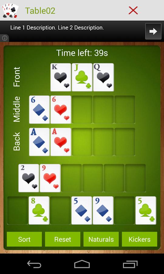 Poker scoring app
