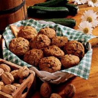 Zucchini-Chocolate Chip Muffins.