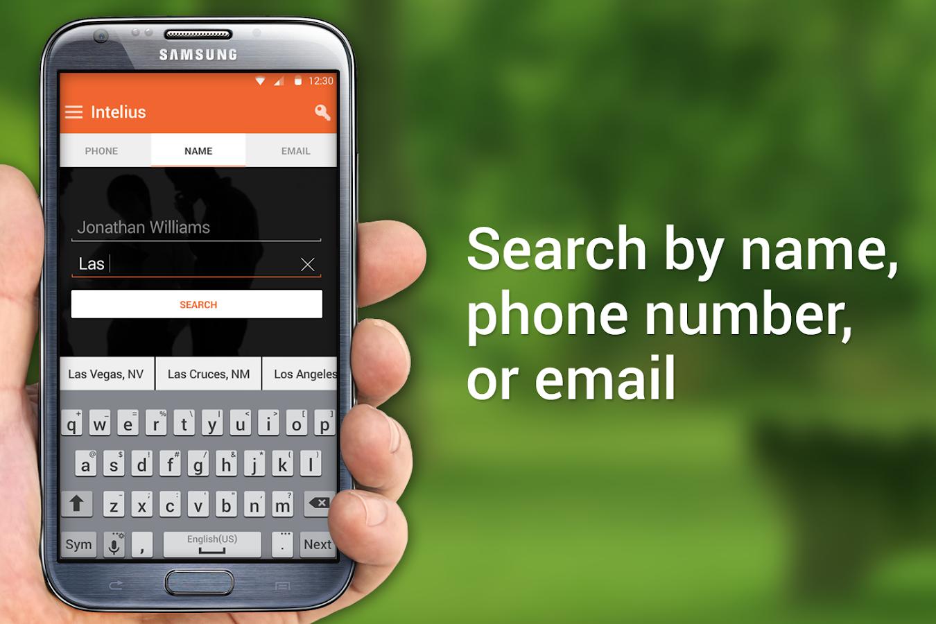 Intelius People Search/Call ID - screenshot