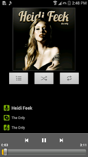 Music Player for Android - screenshot thumbnail