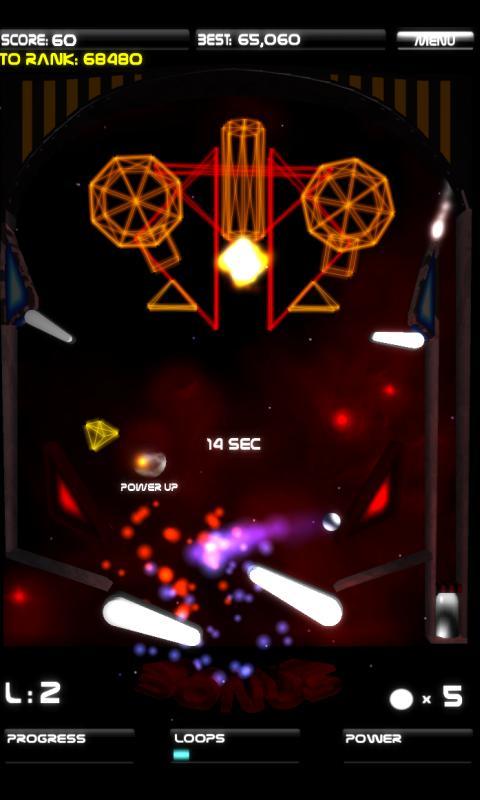Hyperspace Pinball - screenshot