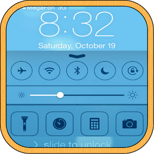 iPhone 5S iOS 7 Lock Screen APK