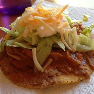 Chicken Tinga Tostados