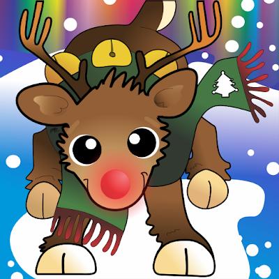 Christmas Rudolph Jingle LED