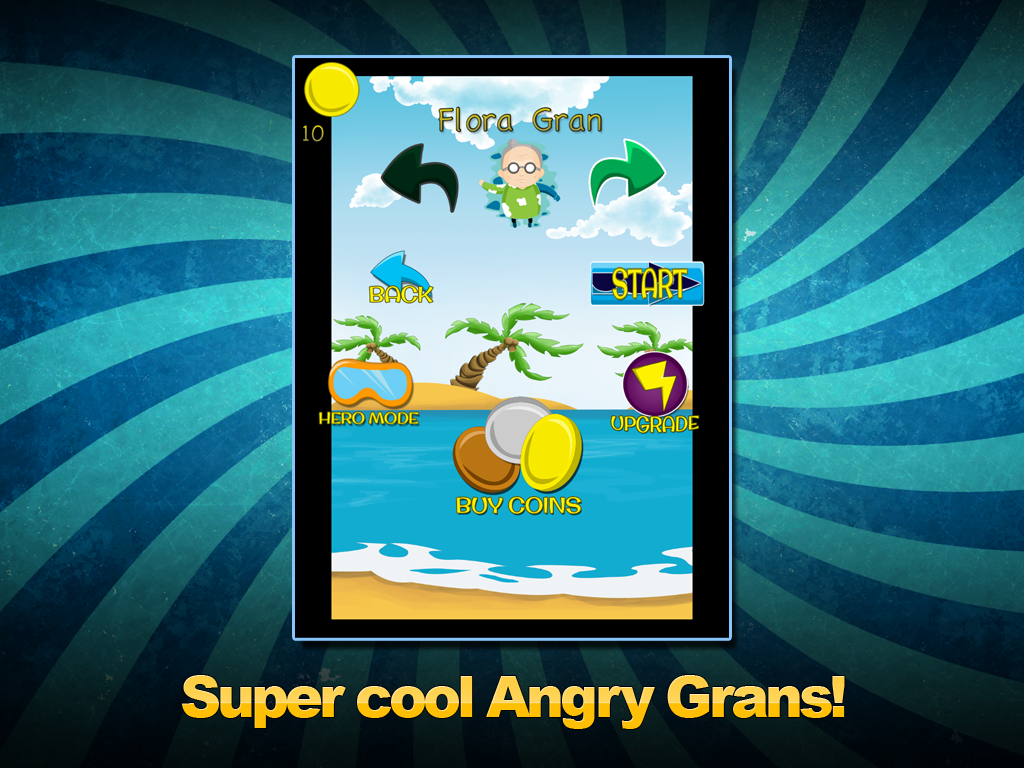 Angry Gran Surfer Clan Clash - screenshot