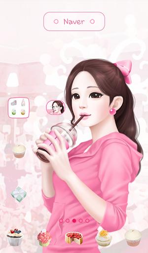 lovely girl sweet girl dodol