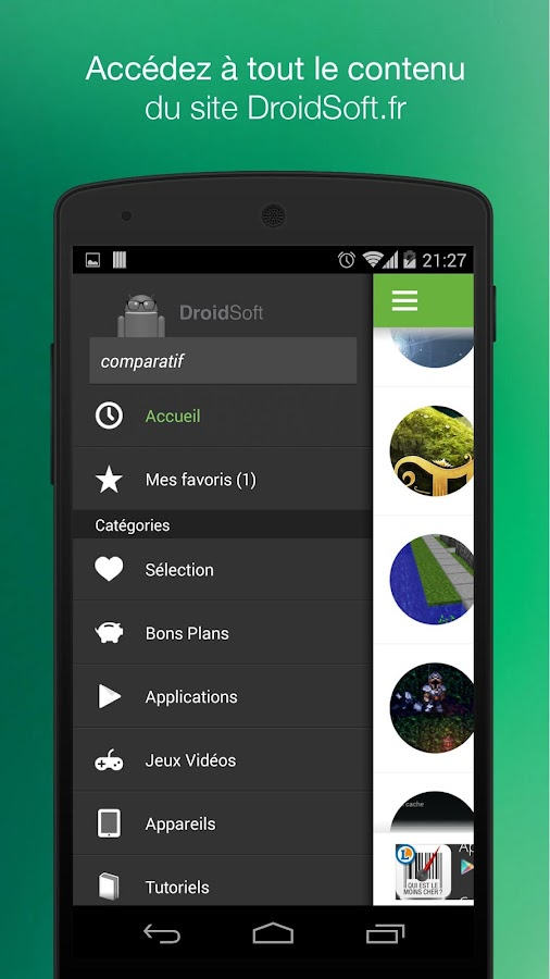 DroidSoft : apps & games- screenshot