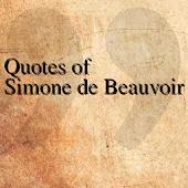 Quotes of Simone de Beauvoir