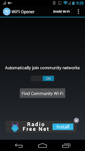 WiFi Opener - screenshot thumbnail