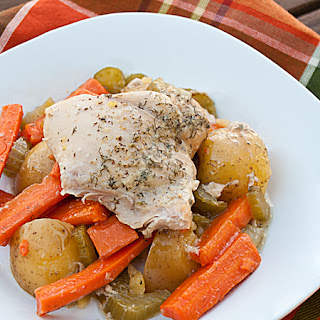 Crock Pot Country Chicken.