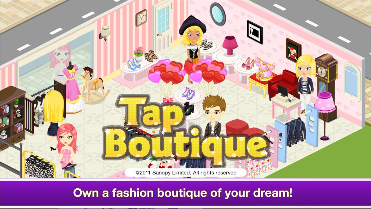 Tap Boutique - Girl Fashion- screenshot