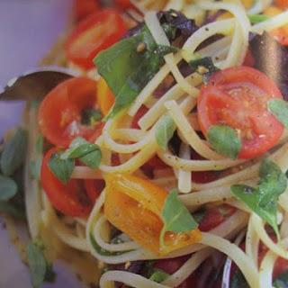 Spaghetti Met Kerstomaatjes Van Jamie Oliver