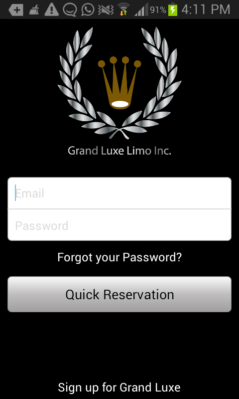 Grand Luxe Limo- screenshot