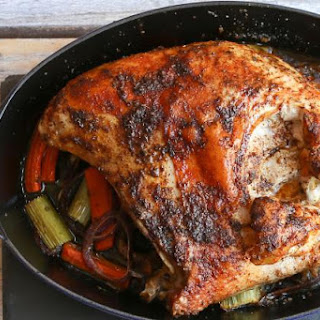 Roasted Split Turkey Breast with Cajun Spices