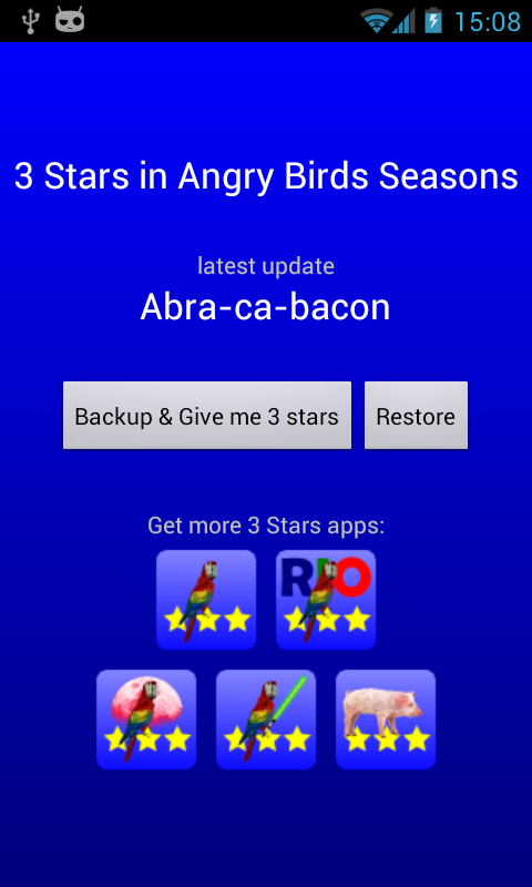 3 Stars in Birds Seasons - screenshot