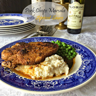 Pork Chops Marsala with Apricot Sauce
