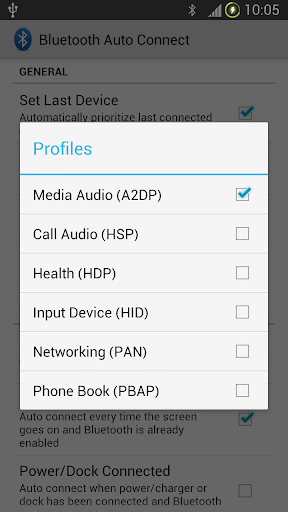 Bluetooth Auto Connect screenshot