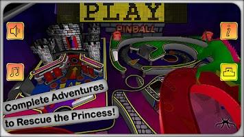 Screenshot of Pinball Crazy Castle