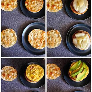 Avocado & Sausage Egg Muffins