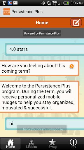 Persistence Plus