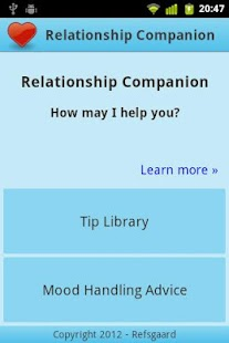 Relationship Companion - screenshot thumbnail