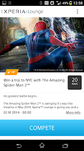 Xperia™ LOUNGE - screenshot thumbnail