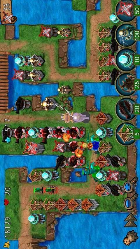 Empire defense - screenshot