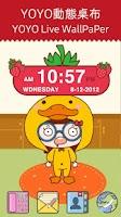 Screenshot of Strawberry Clock Widget