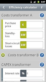 Transformers Calculator- screenshot thumbnail