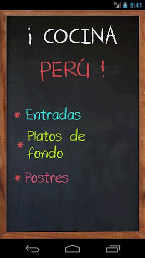 Cocina Perú Premium
