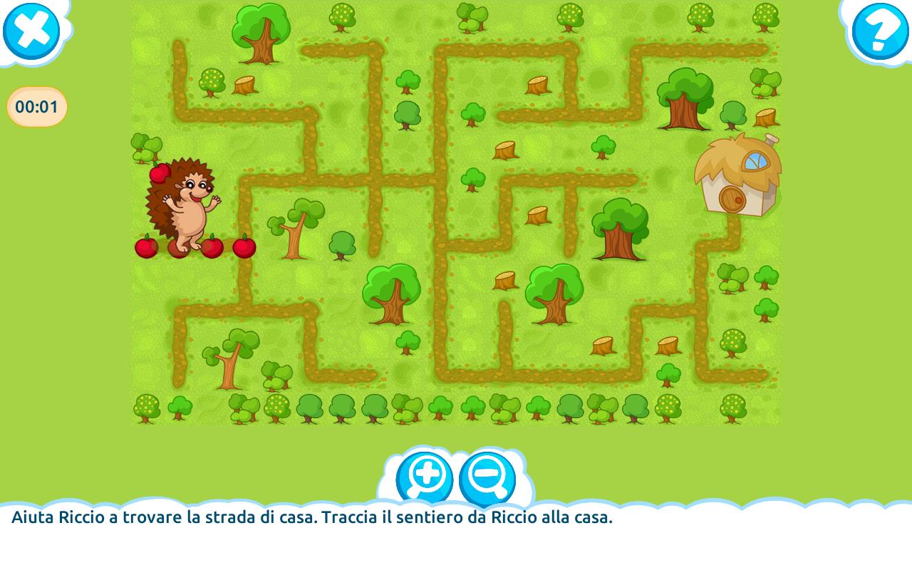 Logica giochi educativi gratis app android su google play for Cucinare per bambini 7 anni
