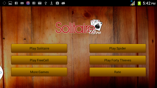 Solitaire 4 in 1 Card Games