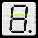 7-segment LCD Display Reader icon