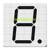 7-segment LCD Display Reader