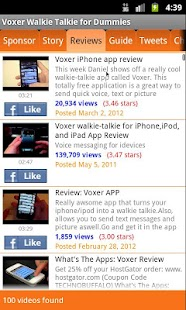 Voxer Walkie Talkie forDummies - screenshot thumbnail