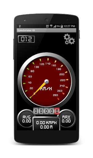 SpeedoMeter Super HD Analog