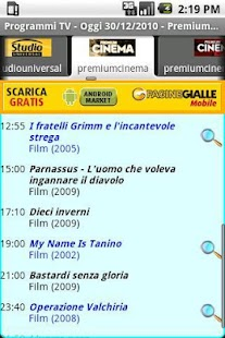 Programmi TV - screenshot thumbnail