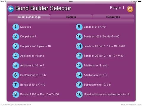 Bond Builder by NumberGym