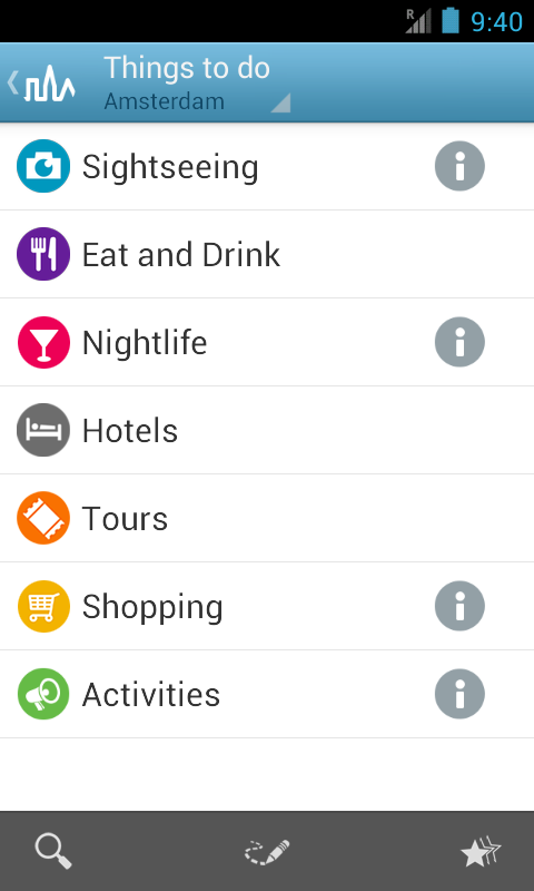 Amsterdam Travel Guide Triposo - screenshot