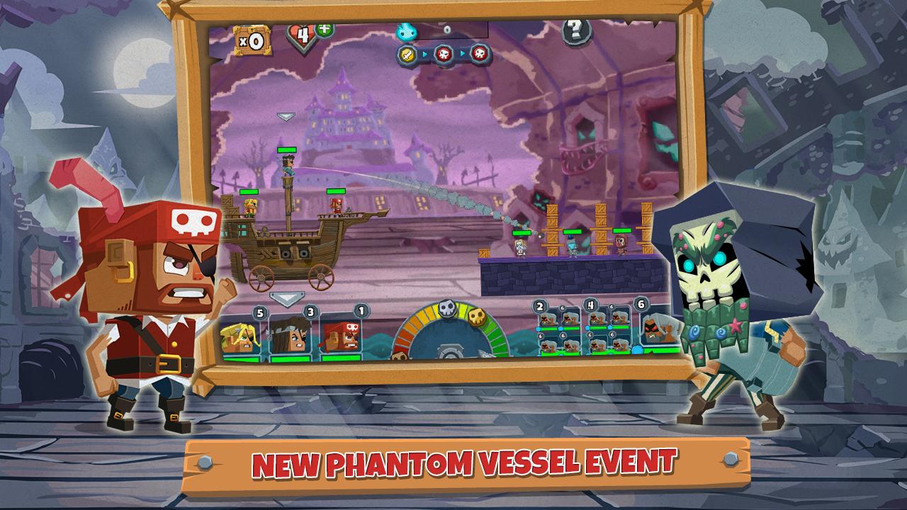Pirate Bash - screenshot