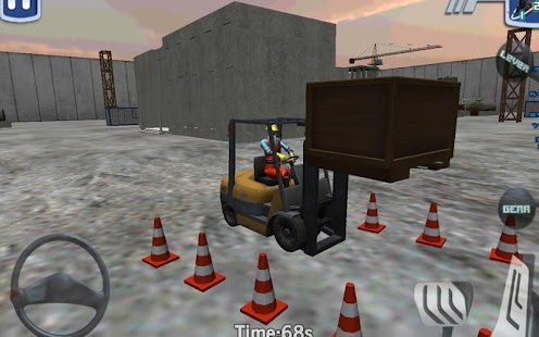 Forklift madness 3D simulator- screenshot thumbnail