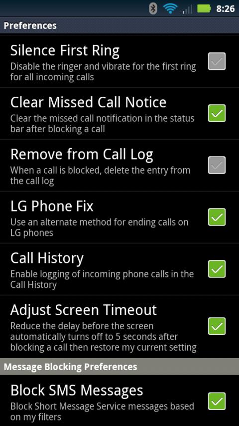 Advanced call blocker trial android apps on google play advanced call blocker trial screenshot ccuart Gallery