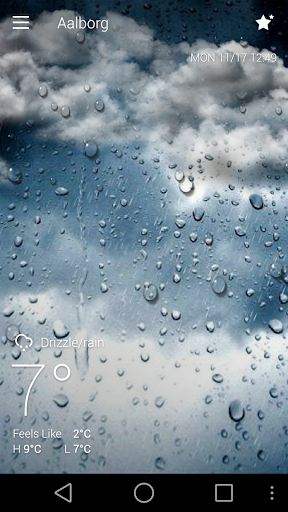 Classic GO Weather Background