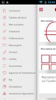 Screenshot of BCP Mobile