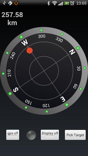 GPS Kompass