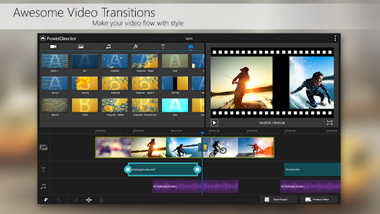 PowerDirector Video Editor App- screenshot thumbnail