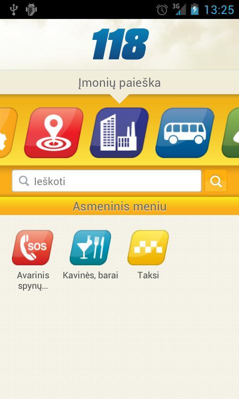 118 Informacija- screenshot