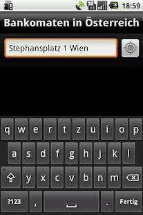 Bankomaten in Österreich Screenshot 3