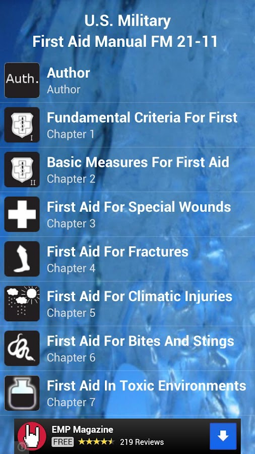 First Aid - screenshot